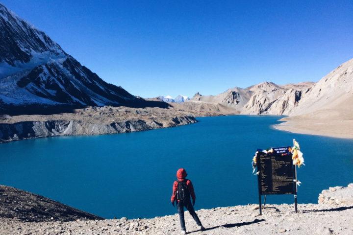 озеро Тиличо 4919м, Гималаи