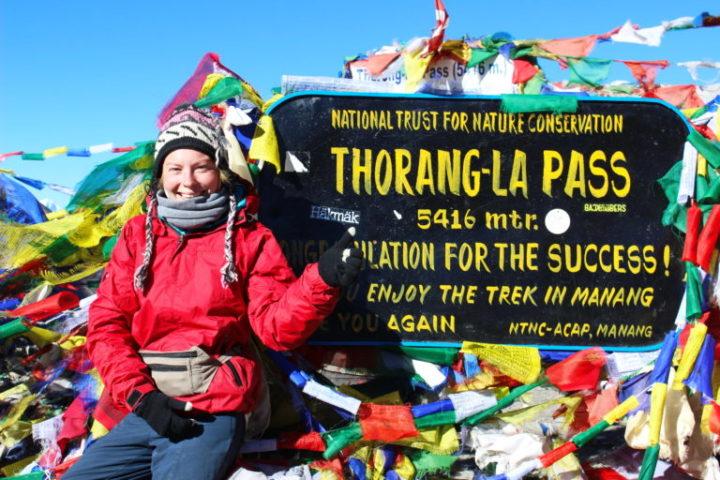 Перевал Торог Ла 5416м, Трек вокруг Аннапурны, Непал